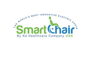 mark for THE WORLD'S MOST INNOVATIVE ELECTRIC CHAIR SMART CHAIR BY KD HEALTHCARE COMPANY USA, trademark #85889324