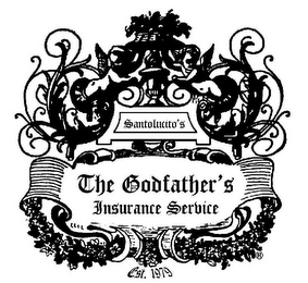 mark for SANTOLUCITO'S; THE GODFATHER'S INSURANCE SERVICE EST. 1979, trademark #85889831