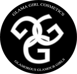 mark for GGG GLAMA GIRL COSMETICS GLAMOROUS GLAMOUR GIRLS, trademark #85890302