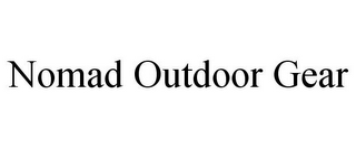 mark for NOMAD OUTDOOR GEAR, trademark #85890403