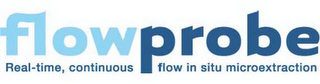 mark for FLOWPROBE REAL-TIME, CONTINUOUS FLOW IN SITU MICROEXTRACTION, trademark #85890433