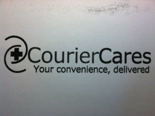 mark for + COURIER CARES YOUR CONVENIENCE, DELIVERED, trademark #85890686