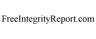 mark for FREEINTEGRITYREPORT.COM, trademark #85891069