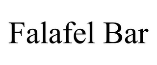 mark for FALAFEL BAR, trademark #85891396