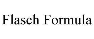 mark for FLASCH FORMULA, trademark #85891704