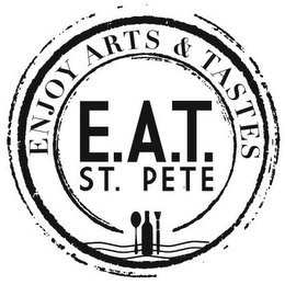 mark for ENJOY ARTS & TASTES E.A.T. ST. PETE, trademark #85891868
