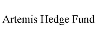 mark for ARTEMIS HEDGE FUND, trademark #85892838