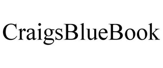 mark for CRAIGSBLUEBOOK, trademark #85893437