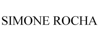 mark for SIMONE ROCHA, trademark #85893666