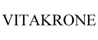 mark for VITAKRONE, trademark #85894803