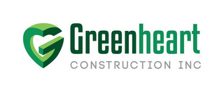 mark for G GREENHEART CONSTRUCTION INC, trademark #85895247