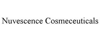 mark for NUVESCENCE COSMECEUTICALS, trademark #85895717