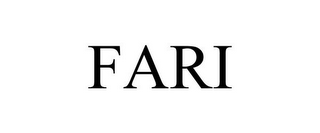 mark for FARI, trademark #85895981