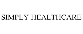 mark for SIMPLY HEALTHCARE, trademark #85896136