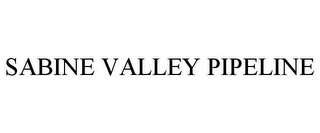 mark for SABINE VALLEY PIPELINE, trademark #85897284