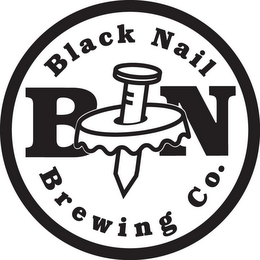mark for BN BLACK NAIL BREWING CO., trademark #85897359