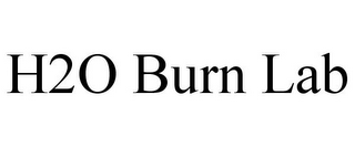 mark for H2O BURN LAB, trademark #85898493