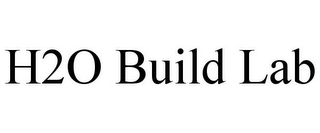 mark for H2O BUILD LAB, trademark #85898494