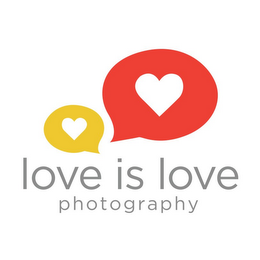 mark for LOVE IS LOVE PHOTOGRAPHY, trademark #85899020