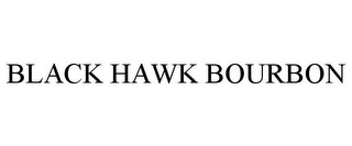 mark for BLACK HAWK BOURBON, trademark #85899487
