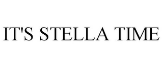 mark for IT'S STELLA TIME, trademark #85899490