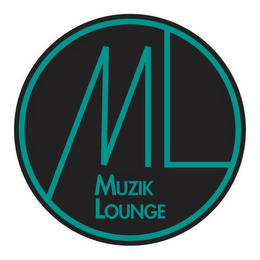 mark for ML MUZIK LOUNGE, trademark #85899858