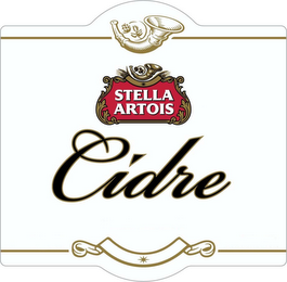 mark for STELLA ARTOIS CIDRE, trademark #85899954