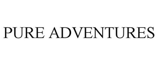 mark for PURE ADVENTURES, trademark #85900454