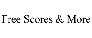 mark for FREE SCORES & MORE, trademark #85901398