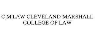 mark for C|M|LAW CLEVELAND-MARSHALL COLLEGE OF LAW, trademark #85902002