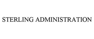 mark for STERLING ADMINISTRATION, trademark #85902068