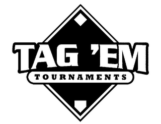 mark for TAG 'EM TOURNAMENTS, trademark #85902251