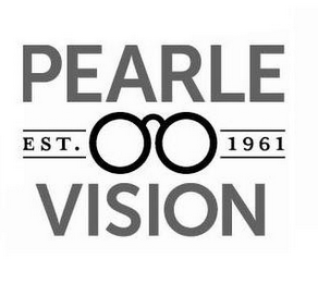 mark for EST. 1961 PEARLE VISION, trademark #85902555