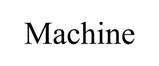 mark for MACHINE, trademark #85902644