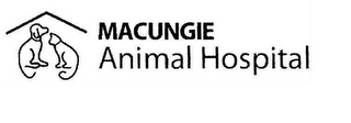 mark for MACUNGIE ANIMAL HOSPITAL, trademark #85902810