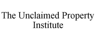 mark for THE UNCLAIMED PROPERTY INSTITUTE, trademark #85902987