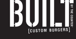 mark for BUILT BY THE COUNTER [CUSTOM BURGERS], trademark #85903420