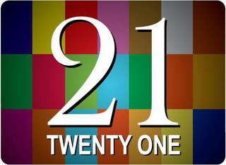 mark for 21 TWENTY ONE, trademark #85903519