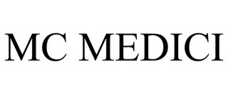 mark for MC MEDICI, trademark #85903639