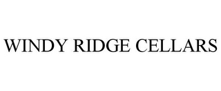 mark for WINDY RIDGE CELLARS, trademark #85903838