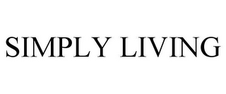 mark for SIMPLY LIVING, trademark #85903862