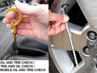 mark for OIL AND TIRE CHECK / TIRE AND OIL CHECK / MOBILE OIL AND TIRE CHECK, trademark #85905008
