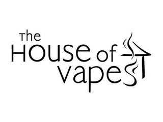 mark for THE HOUSE OF VAPES, trademark #85905077