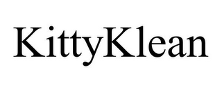 mark for KITTYKLEAN, trademark #85905289