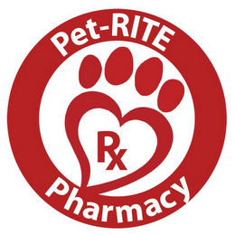 mark for PET-RITE PHARMACY RX, trademark #85905551