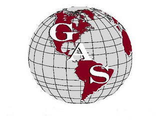 mark for G A S, trademark #85905643