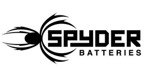 mark for SPYDER BATTERIES, trademark #85905676