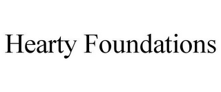 mark for HEARTY FOUNDATIONS, trademark #85906072