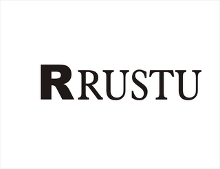 mark for R RUSTU, trademark #85906328