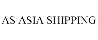 mark for AS ASIA SHIPPING, trademark #85906570